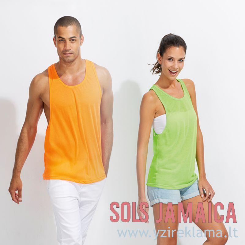 Universalūs marškinėliai suaugusiems JAMAICA