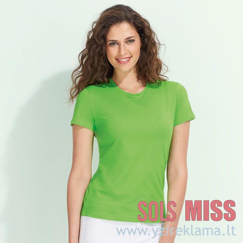 Moteriški marškinėliai MISS